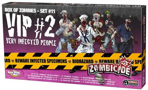 Zombicide Box of Zombies Set #10: VIP #2 – Very Infected People