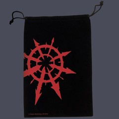 Warhammer Dice Bag: Chaos Star