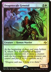 Dragonscale General - Foil Intro Pack Promo