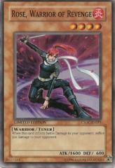 Rose, Warrior of Revenge - CSOC-ENSP1 - Super Rare - Limited Edition