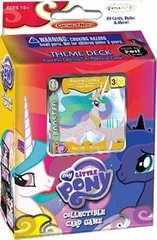 My Little Pony CCG: Canterlot Nights Princess Celestia & Rarity Theme Deck