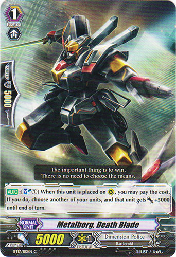 Metalborg, Death Blade - BT17/110EN - C