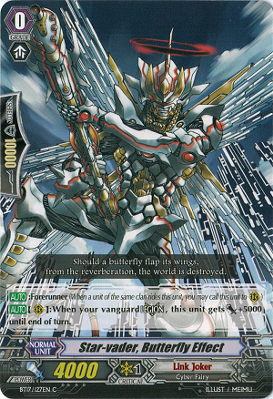 Star-vader, Butterfly Effect - BT17/127EN - C
