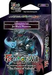 Force of Will Jet Black Phantom Starter Deck