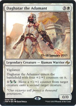 Daghatar the Adamant - Foil - Prerelease Promo