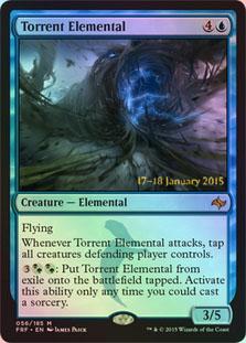 Torrent Elemental - Foil - Prerelease Promo