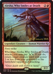 Alesha, Who Smiles at Death - Foil - Prerelease Promo on Channel Fireball