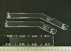 Litko Space Fighter, Huge Ship Maneuver Gauge Set (3)