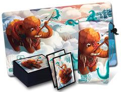 StarCityGames Mammoth Accessory Set - Playmat, Card Sleeve, Dice Bag