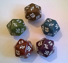Magic Spindown Die - Fate Reforged - Set of 5
