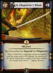 A Magistrates Blade