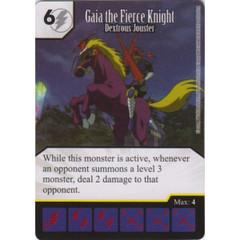 Gaia the Fierce Knight - Dextrous Jouster (Die & Card Combo)