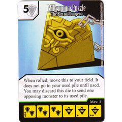 Millennium Puzzle - The Eternal Dungeon (Die & Card Combo)