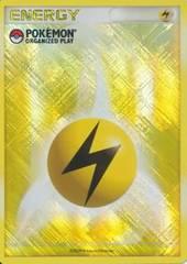 Lightning Energy - Pokemon Organized Play Promo