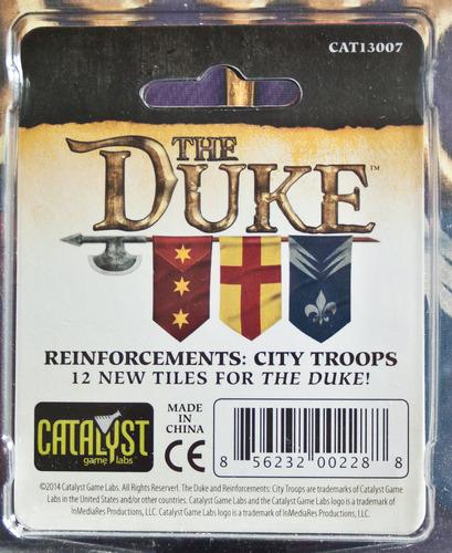 The Duke: Reinforcements – City Troops