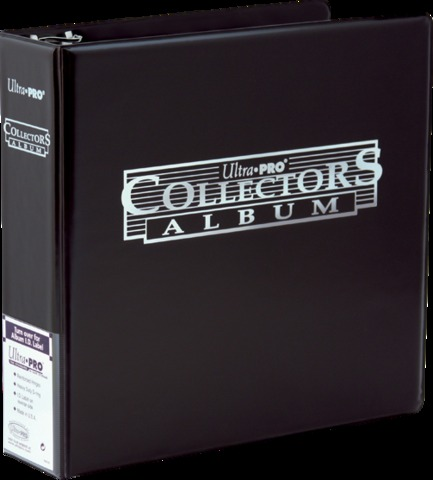 3 Ultra Pro Collectors Album - Black
