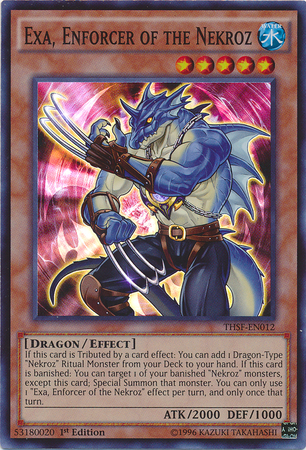 Exa, Enforcer of the Nekroz - THSF-EN012 - Super Rare - 1st Edition