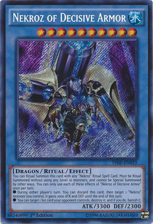 Nekroz of Decisive Armor - THSF-EN019 - Secret Rare - 1st Edition