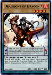 Dragoons of Draconia - SECE-ENSP1 - Ultra Rare - Limited Edition on Channel Fireball