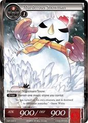 Murderous Snowman - CMF-030 - C - 1st Printing