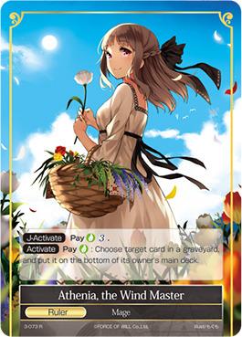 Athenia, the Wind Master - 3-073 - R