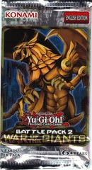 Yu-Gi-Oh Battle Pack 2: War of the Giants Unlimited Edition Booster Pack