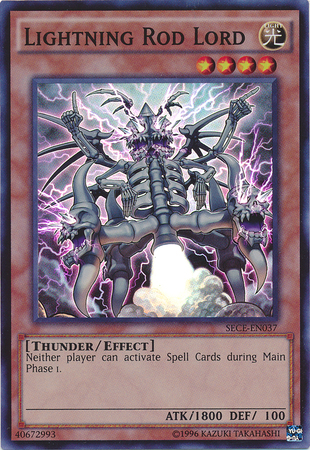 Lightning Rod Lord - SECE-ENS09 - Super Rare - Limited Edition