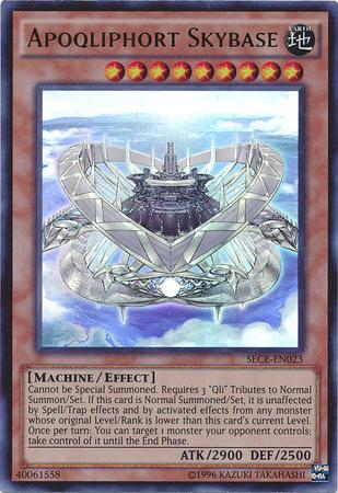 Apoqliphort Skybase - SECE-EN023 - Ultra Rare - Unlimited Edition