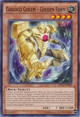 Gogogo Golem - Golden Form - SECE-EN090 - Unlimited Edition