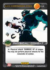 Black Overpowering Attack C19 - Foil