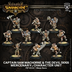 Captain Sam MacHorne & The Devil Dogs - Character Unit