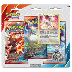 Pokemon XY5 Primal Clash  3-Booster Blister Pack - Furfrou Promo