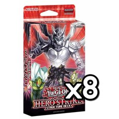 HERO Strike Structure Deck Box of 8