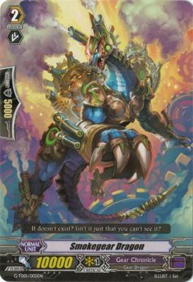 Smokegear Dragon - G-TD01/005EN - TD