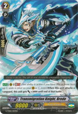 Transmigration Knight, Brede - G-TD02/007EN