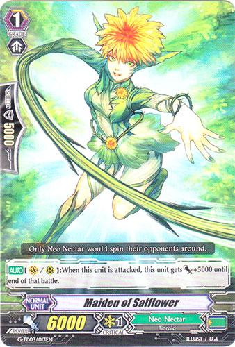 Maiden of Safflower - G-TD03/013EN