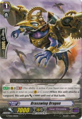 Brasswing Dragon - G-TD01/010EN - TD