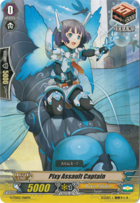 Pixy Assault Captain - G-TD02/016EN