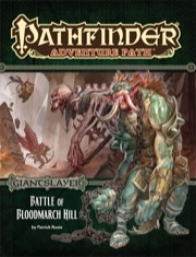 Pathfinder RPG (Adventure Path) - Battle of Bloodmarch Hill - Giantslayer (1 of 6)