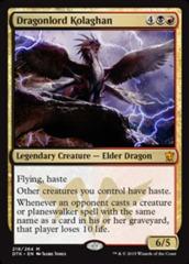 Dragonlord Kolaghan - Foil