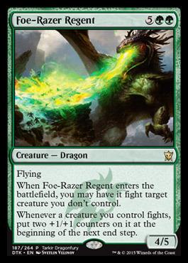 Foe-Razer Regent - Tarkir Dragonfury Promo