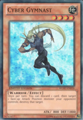 Cyber Gymnast - WGRT-EN016 - Super Rare - Limited Edition