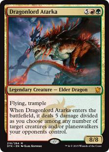 Dragonlord Atarka - Foil