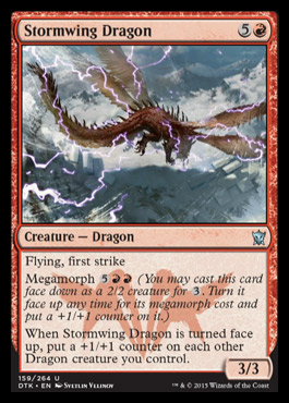 Stormwing Dragon - Foil