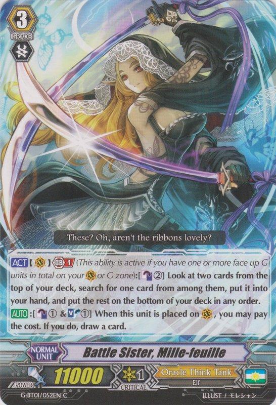Battle Sister, Mille-feuille - G-BT01/052EN - C