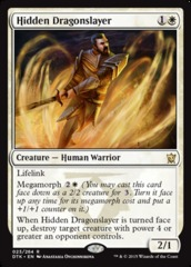 Hidden Dragonslayer - Foil
