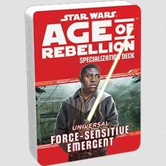 Star Wars: Age of Rebellion - Force-Sensitive Emergent Specialization Deck