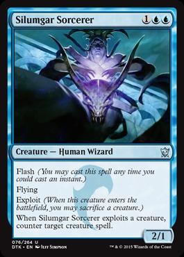 Silumgar Sorcerer - Foil