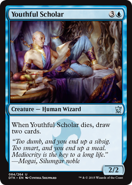 Youthful Scholar - Foil
