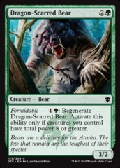 Dragon-Scarred Bear - Foil